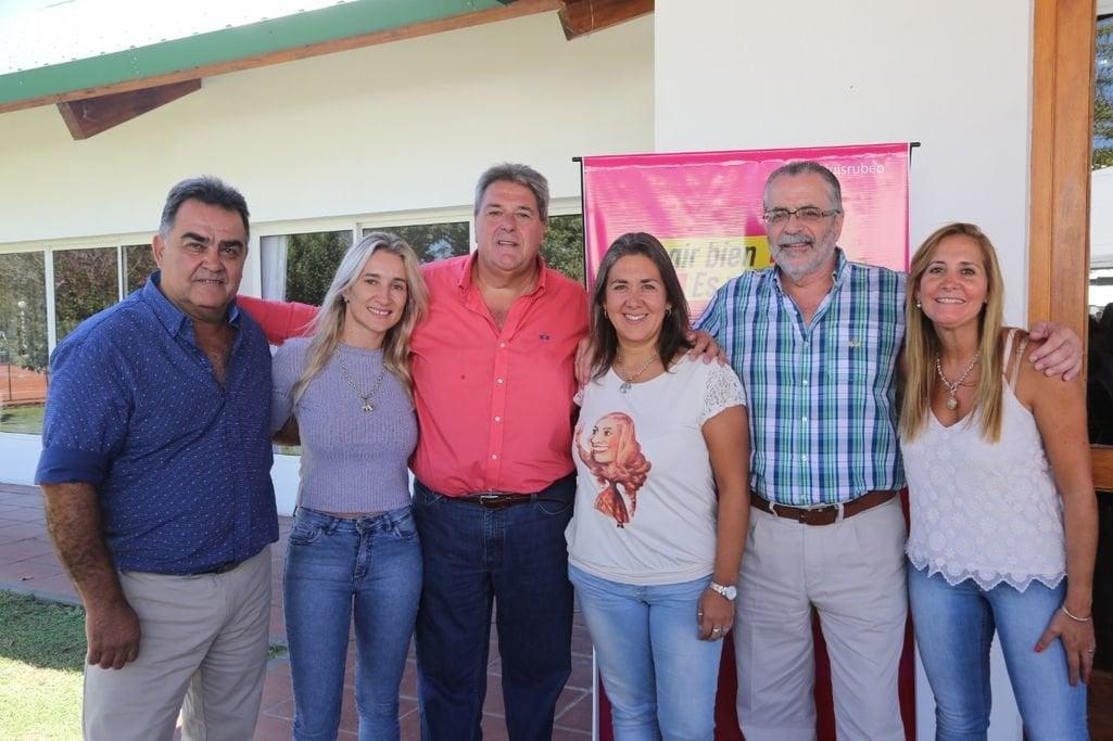 El espacio político que lidera Rubeo se reunió en Oliveros. Foto:Gentileza.