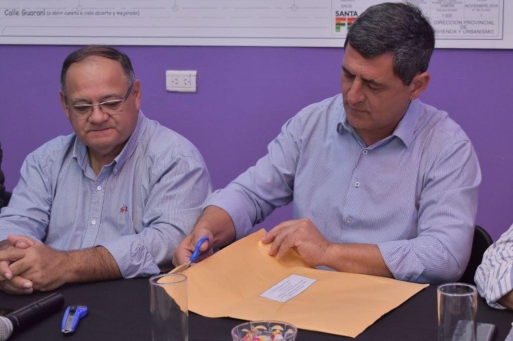 Se presentó una única oferta a cargo de la empresa MEM Ingeniería S.A. Foto:Gentileza: prensa Gobierno de Santa Fe.
